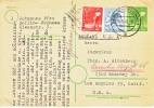 Germany Postal Card To U.S. 1948 - American/British Zone