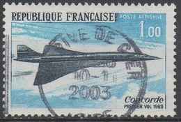 FRANCE  N°43__OBL  VOIR  SCAN - Airmail
