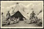 HARSKAMP Tentenkamp Met Veel Militairen Zeer Levendig Verzonden 1937 - Non Classés