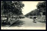 """CPA. LYON. Le Boulevard De La Croix-Rousse. """"Tramway"""". - Lyon 4"""
