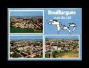 30 - BOUILLARGUES - Vues Aériennes Du Village - Multi Vues - Autres Communes