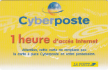 FRANCE - La Poste Internet Prepaid Card, Used - Frankrijk