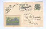 765/17 -  BELGIQUE - Entier Postal Avec Vignette ESPERANTO KONGRESO 39 - ANTWERPEN 1938 - Esperanto