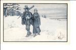 Plymouth Minnisota Pilgram Pilgrams Going To Church Man Woman - Plymouth