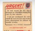 768/17 -  FRANCE - Dépliant IMPRIME TP PREO - Publicité Magazine Le Chasseur Français - Timbres
