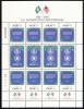 Palau Scott #157a MNH Sheetlet Of 12 14c US Constitution Bicentenary - Palau