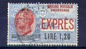 1921 - Regno -  Italia - Italy -  Espressi - Sass. N. E05 - Used - (B2106...) - 1900-44 Vittorio Emanuele III