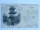 SHANGHAI, Hotel Des Colonies, 17 Février 1905, GRAND CONCERT Du 3èm Bataillon De TSINGTAU - China