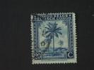 Belgisch Congo Belge 1943 Palmiers Palmen Yv 251 O - 1923-44: Oblitérés