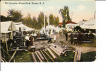 Fair Grounds Alcyon Park Pitman New Jersey Postmark 1921 - Atlantic City