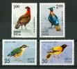 1975 India Uccelli Oiseaux Vogel Birds Set MNH** 71Tm- - Nuovi