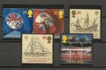 UK - 1992 EUROPA International Events - SG 1615/9 - Yvert  1619/23 - MNH - Sin Clasificación