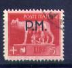 1942 - Regno -  Italia - Italy - Posta Militare - Sass. N. 12 -  USed - (B1806...) - 1900-44 Vittorio Emanuele III