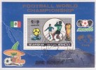 Fußball-WM´86, Mi.-Nr.  Bl.213 , O  (544)* - Fußball-Weltmeisterschaft