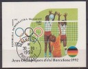 Volleyball, Madagaskar  Bl.191 , O  (548)* - Volleyball