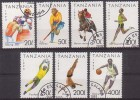 Sport, Tansania  1467/73 , O  (539)* - Briefmarken