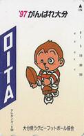 Télécarte Japon - Sport - RUGBY / OITA 95 - Japan Phonecard Telefonkarte - 132 - Sport