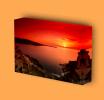 Canvas Art Print On Stretcher Bars, Landscape, Sea, Island, Sunset - Prints & Engravings