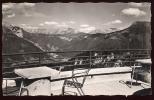 CPSM  VEYRIER DU LAC  Le Téléphérique Terrasse Vue Sur Le Mont Blanc - Veyrier