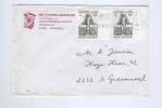 775/17 -   BELGIQUE FRANC MACONNERIE - Lettre TP Grand Orient De Belgique RARES Numéros De Planche 1 Et 6 - Freemasonry