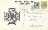 ITALIA:1969:Souvenir Card With Illustr.Cancel:#RADUNO SCOUTS POLACCHI-BATTAGLIA MONTECASSINO#,POLAND,WORLD WAR II, - Scoutismo