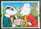 Great Britain 1993 1st Rupert Bear & Bill Badger Issue #1487 - Unclassified