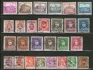 Belgium 1930/2 Stamp Accumulation - Used Stamps