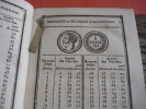 1838 Tarif Général,  Anciens Monaies Provenciales :  Luxembourg Hollande Brabant , Munten Gravures  Rampelbergh Opzoeken - Livres, BD, Revues