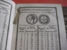 1838 Tarif Général, Anciens Monaies Provenciales :  Luxembourg Hollande Brabant , Munten Rampelbergh Zeer Goede Staat - Livres, BD, Revues