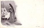 CPA SOEUR SISTER ZUSTER NON NUN ** SOEUR DE SAINT CHARLES  ** G. B. DEPOSE - Christianisme