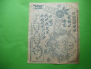 Planche  De Dessin Decalquable Au Fer Chaud- -la Mode N°46 Du 17 Novembre 1912 - Unclassified