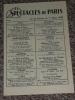 Ancien Programme Spectacles De Paris 1960, Pub Ober Pils - Programmes