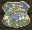 ETIQUETTE - HONORE PAYAN - EAU DE COLOGNE JASMIN - Labels