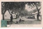 COTE D'IVOIRE GRAND BASSAM RUE DU COMMERCE (PETITE ANIMATION) - Côte-d'Ivoire