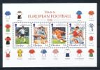 GIBRALTAR  Mi.Nr.Block 25 Sport Fußball - Soccer  - MNH - Fußball-Weltmeisterschaft