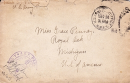 USA 1918 World War I Première Guerre Mondiale American Expeditionary Force AEF Franchise Militaire Royal Oak Michigan - Guerre Mondiale (Première)