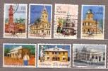 AUSTRALIA 1982 Used Gestempelt Oblitere Post Office Architecture Complete Set Mi 795-801 Hinged #9527 - 1980-89 Elizabeth II