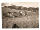 Photo  -FAMILLE -  MONTAGNE - Voitures - VALBERG Le 19 Aout 1956 - Automobiles