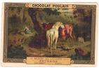 -Chocolat POULAIN Le Louvre  -PAYSAGE Bergen    - TB - Poulain