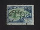 Belgisch Congo Belge 1948 Chemin De Fer Spoorweg Matadi-Leopoldstad Treintrain Yv 296 O - 1947-60: Gebraucht