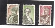 España/Spain-(MNH/**) - Edifil  2071-73 - Yvert  1725-27. - 1971-80 Unused Stamps