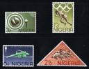 NIGERIA 1964 Olympic Games: Running, Jumping, Hurdles SG 153-6 MH * - Nigeria (1961-...)