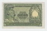 Italy 50 Lire 1951 VF++ CRISP Banknote P 91a 91 A - 50 Lire