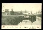 Lommel  : Canal Du Camp . Chargeur électrique Sablières Emseus - Lommel
