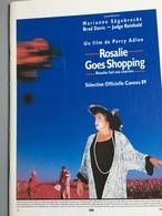 Rosalie Goes Shopping - Percy Adlon - Marianne Sagebrecht - Brad Davis - 1989 - Dossier De Presse - Non Classificati
