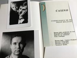 Casino, Film De Gil Bauwens : Dossier De Presse + 2 Photos N&b, En Anglais - Cinemania