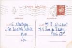 Entero Postal Petain. NICE (Alpes Maritimes) 1943 - 1941-42 Pétain