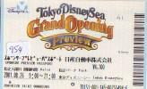 Disney * PASSPORT * Entreecard JAPON * TOKYO DISNEYLAND  (954) JAPAN PASS * - Disney