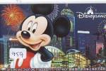 Disney * PASSPORT * Entreecard HONG KONG * DISNEYLAND  (959) HONG KONG PASS * - Disney
