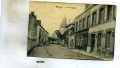 Plancy-L'Abbaye  10     La  Rue De L'Eglise Magasin De Chaussures - Francia